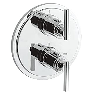 GROHE 19399000 Atrio Thermostatic Shower Mixer with Diverter