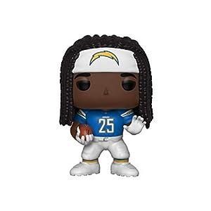 Funko- Pop Figura De Vinil: NFL: Chargers-Melvin Gordon III (Home Jersey) Coleccionable, Multicolor (42868)