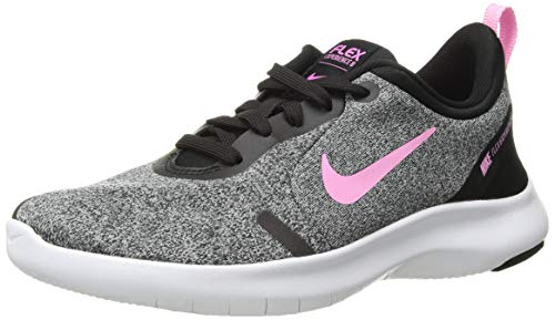 Nike Damen Flex Experience Run 8 Schuh, Silber (White/White/White/Black), 37 EU (Schuhe Frauen Für Silber Nike)
