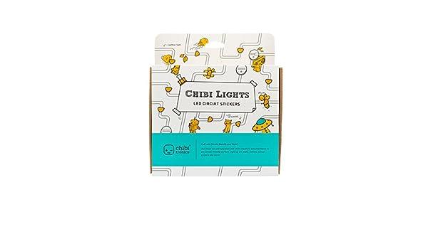 Chibitronics Chibi Lights Circuit Stickers STEM Starter Kit