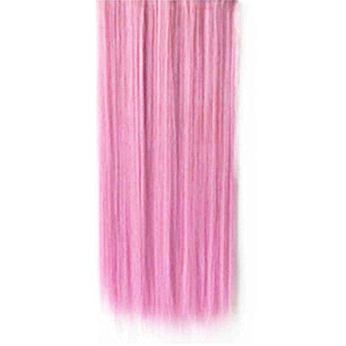Babysbreath Hoher heller Haarteil-gerader Klipp in der Haar-Verlängerungs-Perücke (Kostüm Rosa Damen Frisuren)