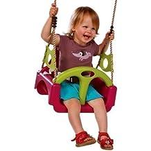 Crece con bebé asiento abatible con cinturón de seguridad 3in1