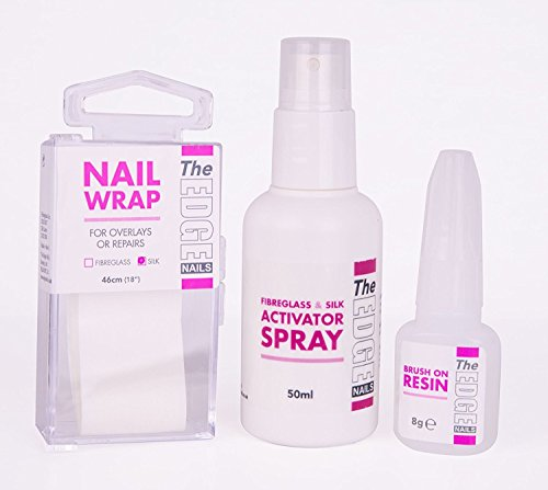 The Edge kit d'essai de vernis à ongles en soie