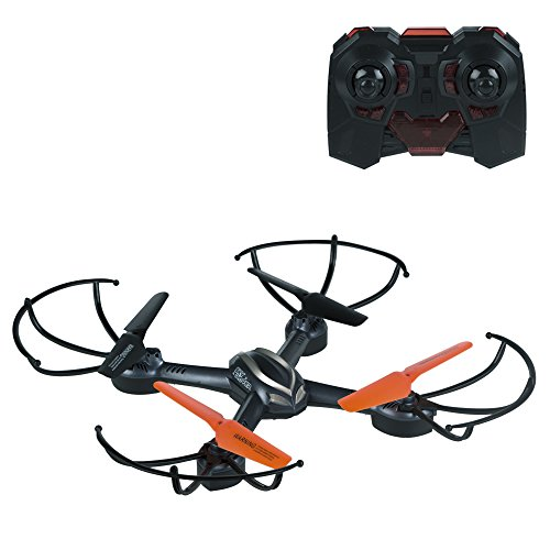 Sky Rover - Dron radio control catalyst 4 channels and turns 360º, 28 x 28 cm (Colorbaby 41853)