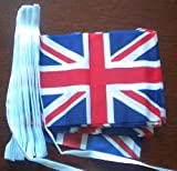 Great Britain Country Flagge, 9 m lange Wimpelkette