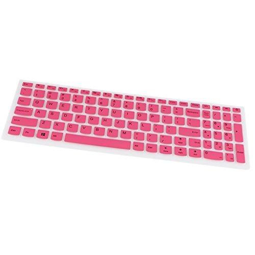 MagiDeal Wasserfest Tastatur Schutz Film Dünne Silikon Abdeckung Hülle für Lenovo 510S Laptop Notebook Slim 8 - Als Bild Stil 1