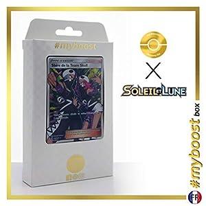 Sbire de la Team Skull (Reculta del Team Skull) 149/149 Entrenadore Full Art - #myboost X Soleil & Lune 1 - Box de 10 Cartas Pokémon Francés