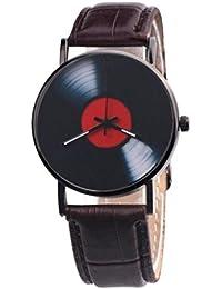 OHQ Reloj De Cuarzo De La AleacióN AnáLoga De La Venda Del DiseñO Retro Unisex La Moda Ocasional Pulsera Reloj Inteligente Marcar El Reloj Reloj ElectróNico