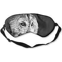 Black Owl Photo Sleep Eyes Masks - Comfortable Sleeping Mask Eye Cover For Travelling Night Noon Nap Mediation... preisvergleich bei billige-tabletten.eu