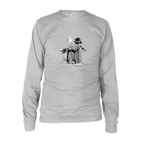 SW: at-at Peeing - Herren Langarm T-Shirt, Größe: XXL, Farbe: ()