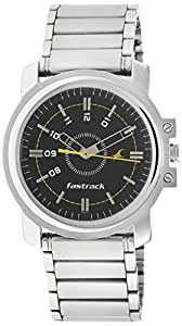 Fastrack Economy Analog Black Dial Men's Watch -NG3039SM02C