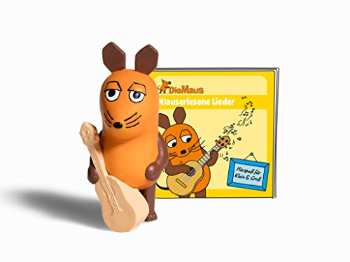 Preisvergleich Produktbild Boxine 10901-1033 - Tonie Die Maus Mauserlesene Lieder, Lernspielzeug