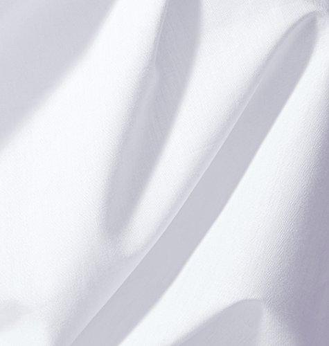 $ AmazonBasics Everyday' Lenzuolo con angoli king, in 100% cotone, Bianco, 180 x 200 x 30 cm confronta il prezzo