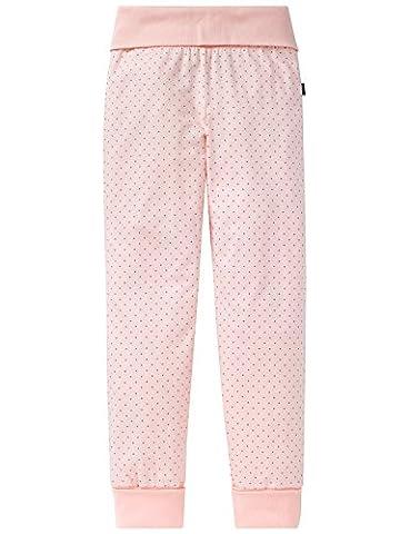 Schiesser Mädchen Schlafanzughose Mix & Relax Jerseypants Gelb (Apricot 603), 140
