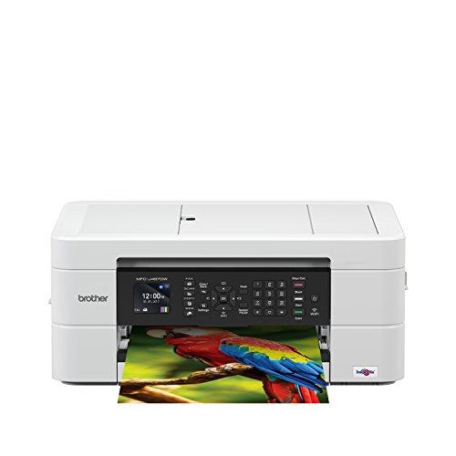 Brother MFC-J497DW Imprimante Multifonction 4 en 1 | Couleur | Ecran LCD | A4 | Chargeur Automatique...