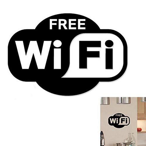 ZKRZ Pegatina pared WiFi Shape Vinilos Decorativos