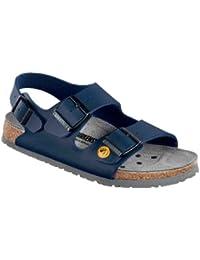 Birkenstock 61398-37-schmales Fußbett Schuh TOKIO Antistatik/Naturleder, Balu, Größe 37