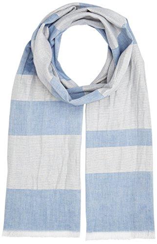s.Oliver Herren Schal 97704913344, Blau (Blue Stripes 56G1), One Size