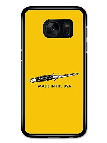 Made in the USA Flick Knife Switch Blade Comb Greaser 50s Rebel Design hülle für Samsung Galaxy S7