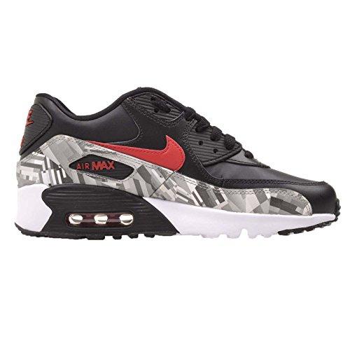 Nike Air Max 90 Junior Hyper Punch Noir noir/rouge/gris