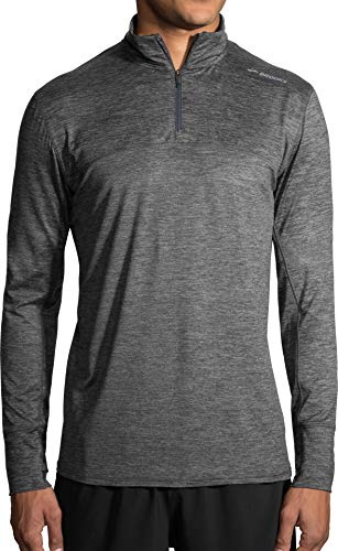 Dash Long Sleeve (Brooks Dash 1/2 Reißverschluss Laufhemd - X Large)