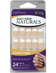 Nailene Daily Wear Naturals Faux-ongles de french manucure