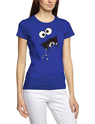 Kekse ! Girly T-Shirt Blau (Minute Für Kostüme Last Mädchen)