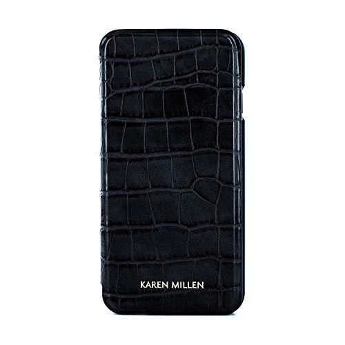 Karen Millen® Croc Krokodil-Leder Imitat Handyhülle Kompatibel mit Apple iPhone 8/7 (4.7