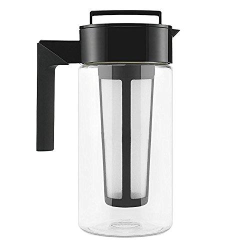 Cold Brew Coffee Maker 1 Liter BPA-frei - Kaffeebereiter aus Tritan - Stylishes Geschenk Für Kaffeeliebhaber (Koffein Freien Kaffee)
