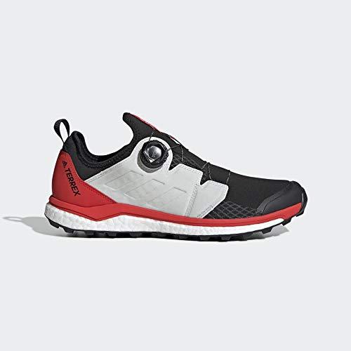 adidas Herren Terrex Agravic Boa Kletterschuhe, Mehrfarbig (Negbás/Ftwbla/Rojact 000), 48 EU