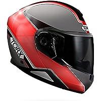 Torx casco Moto Neil 2, Rojo, talla XL