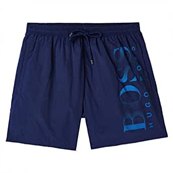 BOSS Hugo Swim Shorts for Men - Blue (X-Large)