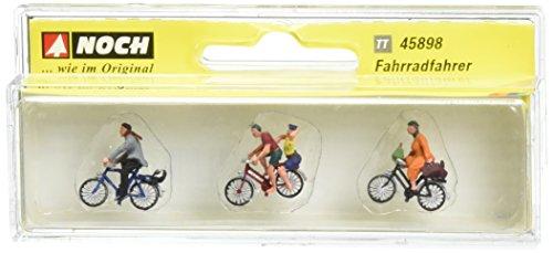 Noch - 45898 - Modélisme Ferroviaire - Figurine - Cyclistes