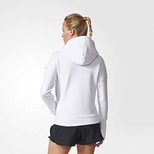 adidas Damen Z.n.e Kapuzenpullover White