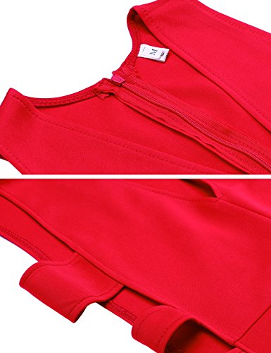 cooshional - Robe - Femme Rouge