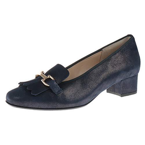 Hassia Damen Schuhe Absatz Slipper Evelyn Weite J Ocean 53033553000 (4.5 UK) -
