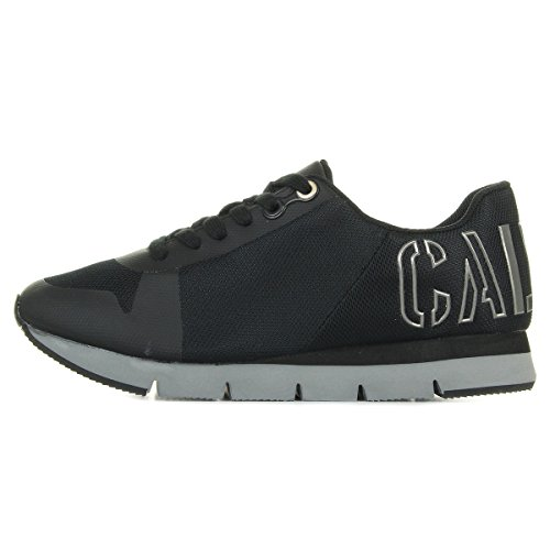Calvin Klein Jabre Mesh/Hf, Sneaker Uomo Nero