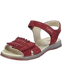 Gabor kids - Zapatos de cordones de cuero para niña