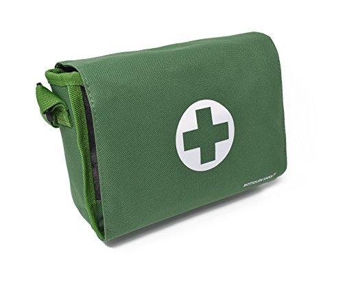 412FkGpvacL - Botiquín BANDOLERA de primeros auxilios con 85 ARTÍCULOS indispensables para realizar curas de emergencia