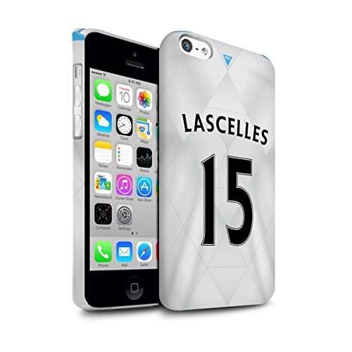Offiziell Newcastle United FC Hülle / Glanz Snap-On Case für Apple iPhone 5C / Torwart Muster / NUFC Trikot Away 15/16 Kollektion Lascelles