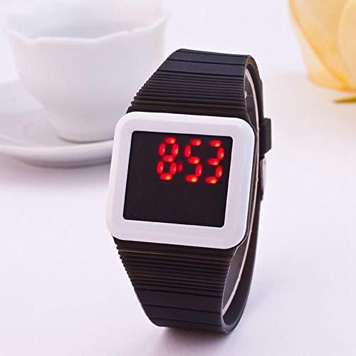 Silikon elektronische Uhr Touch elektronische Uhr hot Fashion led Touch silikon elektronische Uhr orange