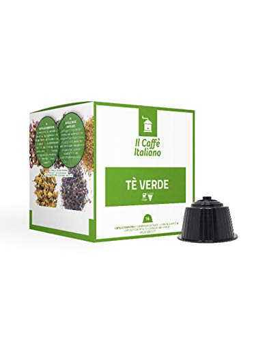 48 Grüner Tee kapseln - Dolce Gusto Kompatible kapseln - Il Caffè Italiano -