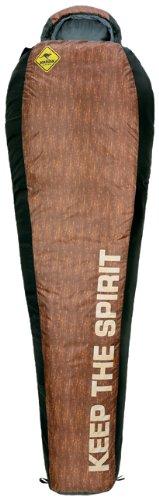 Roadsign 70505 Trekking - Sacco a pelo mummia 225 x 85 x 50 cm, colore: Marrone