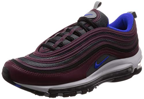 grossiste 94f25 941b7 Nike Air Max 97, Chaussures de Fitness Homme, Multicolore (Cool Grey/Racer  Blue/Night Maroon 012) 42 EU
