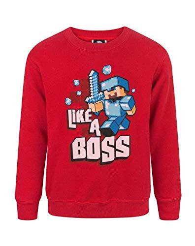Minecraft Like a Boss Jungen Pullover (9-10 ()