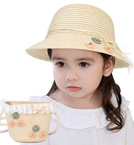 Lachi Straw Hats Girls Kids Sun ...