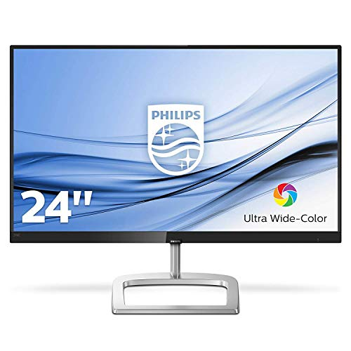 Philips 246E9QDSB/00 60 cm (23,8 Zoll) Monitor (VGA, DVI, HDMI, FHD, 5ms Reaktionszeit, 1920 x 1080) schwarz Sharp Electronics Outlet