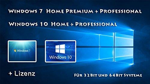 Windows 7 und 10 auf einem USB Stick + 1 Lizenz nach Wahl
