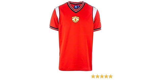 adidas originals Manchester United Retro Shirt 85 Red White