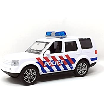 Toy Police Car With Light Sound Toy Emergency Vehicle Response - Police car